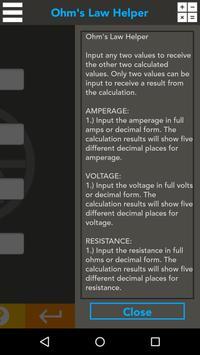 Ohm's Law Helper screenshot 2