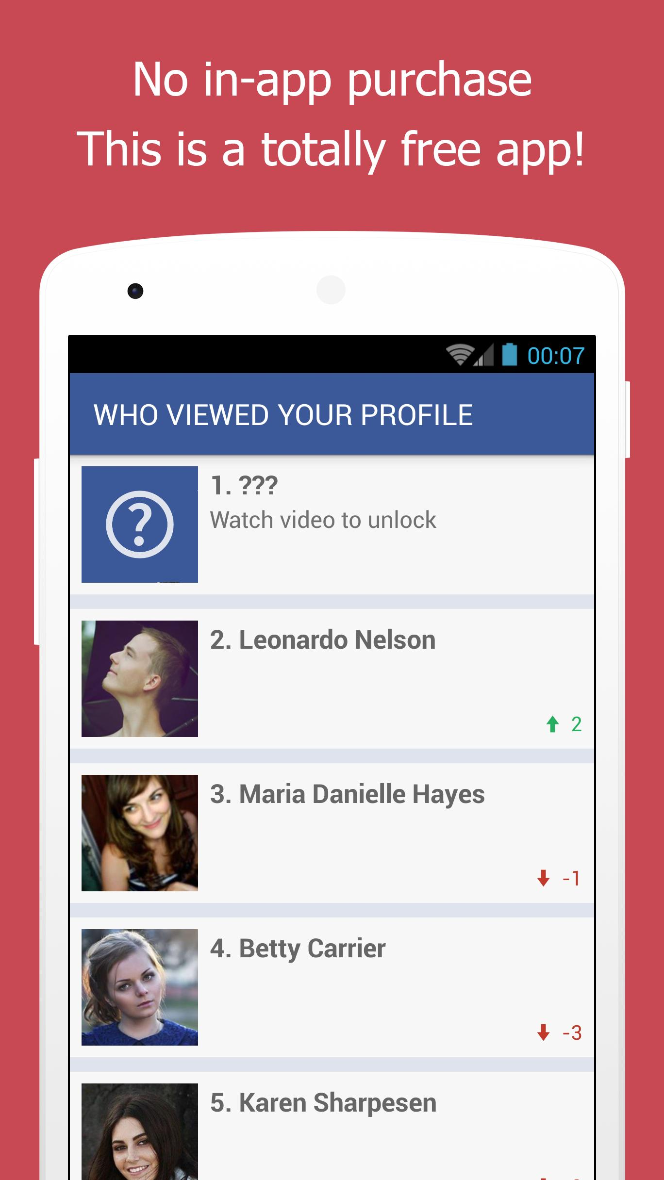Who Viewed My Facebook Profile Stalkers Visitors For Android