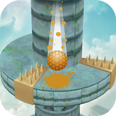 Keep Drop–Helix Ball Jump Tower Games icon