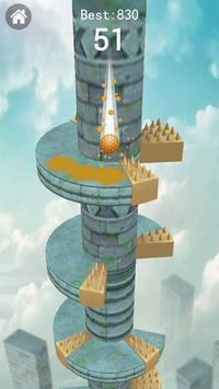 Keep Drop–Helix Ball Jump Tower Games screenshot 4