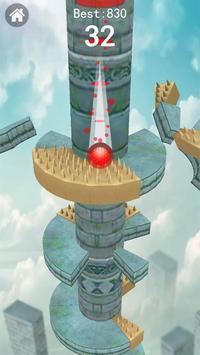Keep Drop–Helix Ball Jump Tower Games poster