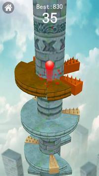 Keep Drop–Helix Ball Jump Tower Games screenshot 1
