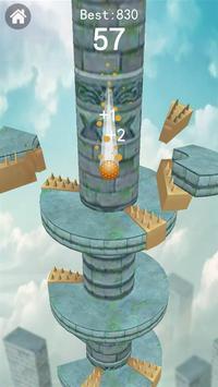 Keep Drop–Helix Ball Jump Tower Games screenshot 2