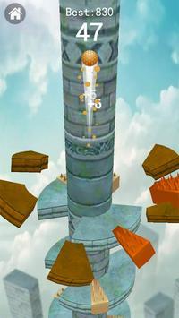 Keep Drop–Helix Ball Jump Tower Games screenshot 3