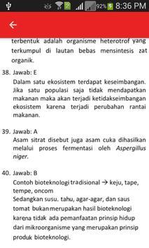 Soal UN Biologi SMA dan Pembahasan screenshot 4