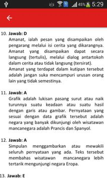 Soal UN B. Indonesia SMA dan Pembahasan screenshot 3