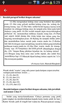 Soal UN B. Indonesia SMA dan Pembahasan screenshot 1
