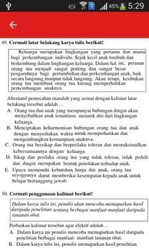 Soal UN B. Indonesia SMA dan Pembahasan screenshot 2