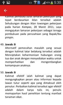 Soal UN B. Indonesia SMA dan Pembahasan screenshot 4