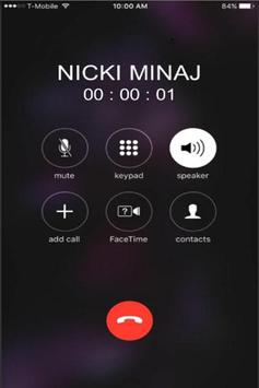 Call From Nicki Minaj Prank screenshot 2