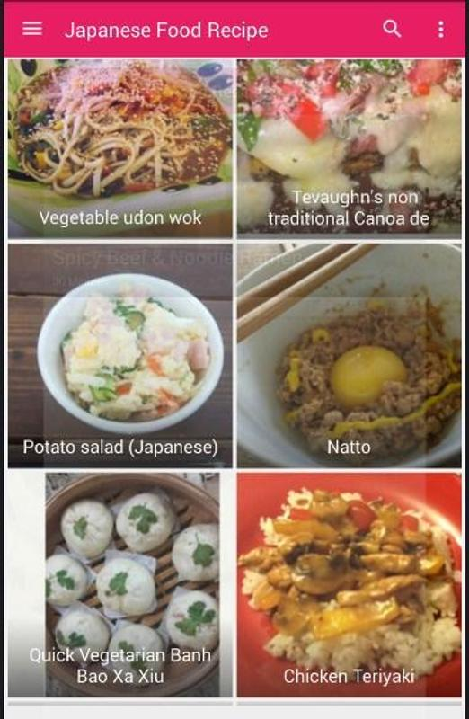 Japanese food recipe 100 apk download free lifestyle app for japanese food recipe 100 apk screenshot forumfinder Image collections