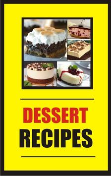 Recipes of Desserts 100+ poster