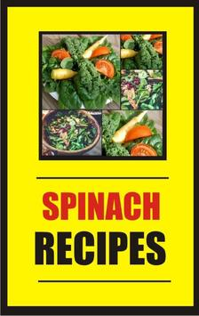 Recipes Spinach 100+ poster