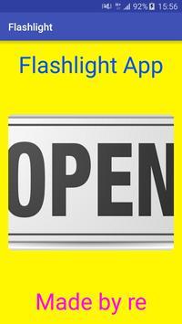 Flashlight apk screenshot