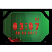 Christmas Clock Live Wallpaper icon