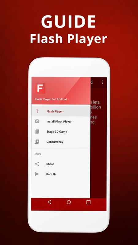 flash player for android free