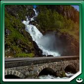 Latefoss Twin Waterfall icon