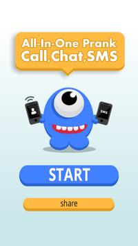 All-In-One Prank Call Chat SMS poster