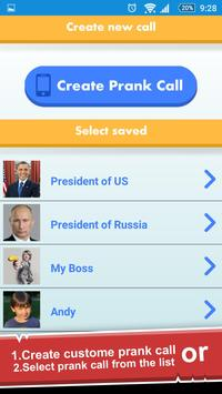 All-In-One Prank Call Chat SMS screenshot 1