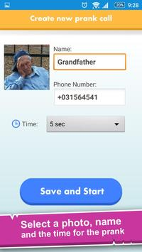 All-In-One Prank Call Chat SMS screenshot 2