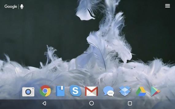 Soft Feathers Live Wallpaper screenshot 4
