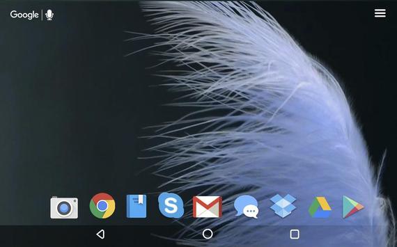 Soft Feathers Live Wallpaper screenshot 5
