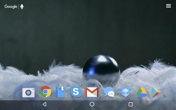 Soft Feathers Live Wallpaper screenshot 3