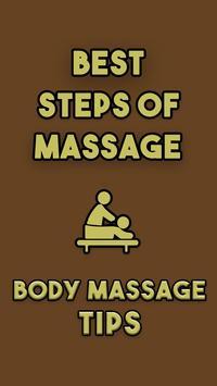 Tips for Body Massage poster