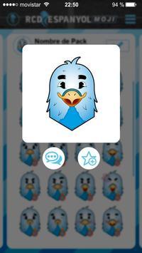 RCD Espanyol Emoji screenshot 2