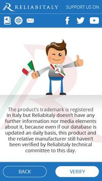 Reliabitaly, verify Made in Italy authenticity screenshot 3