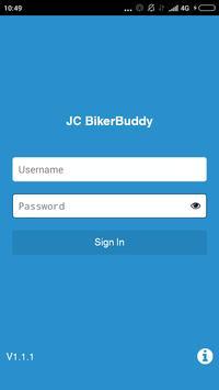 JC Biker Buddy poster