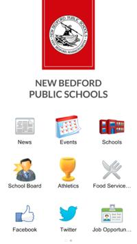 New Bedford School District poster