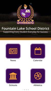 Fountain Lake SD poster