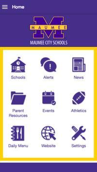 MaumeeCitySchools poster