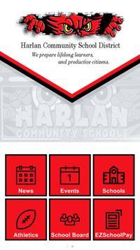 Harlan Comm School District poster