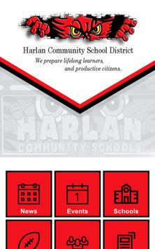 Harlan Comm School District apk screenshot