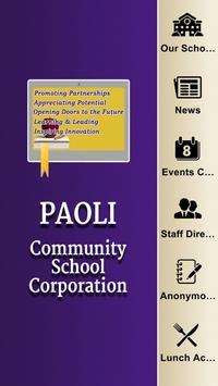 Paoli Community School Corp poster