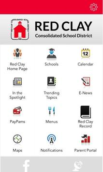 Red Clay Consolidated Schools poster