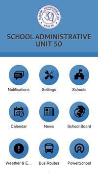 School Administrative Unit 50 poster