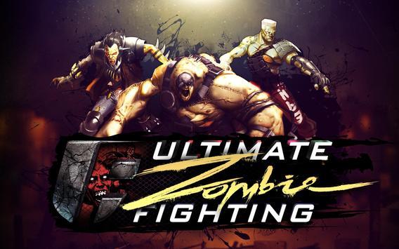 Ultimate Zombie Fighting Plakat