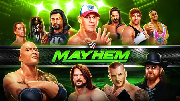 WWE Mayhem постер