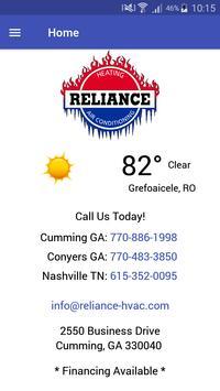 Reliance screenshot 1