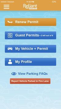 Reliant Parking - Resident apk screenshot