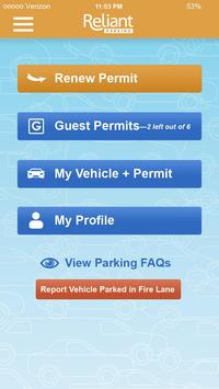 Reliant Parking - Resident apk screenshot