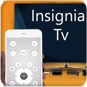 control remoto para tv insignia icono