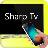 Control remoto para tv sharp icono