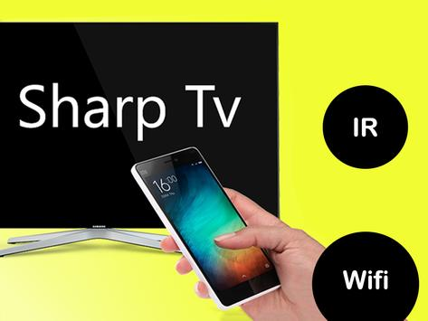 Control remoto para tv sharp Poster