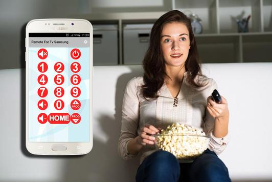 Remote Control For Tv Samsung poster