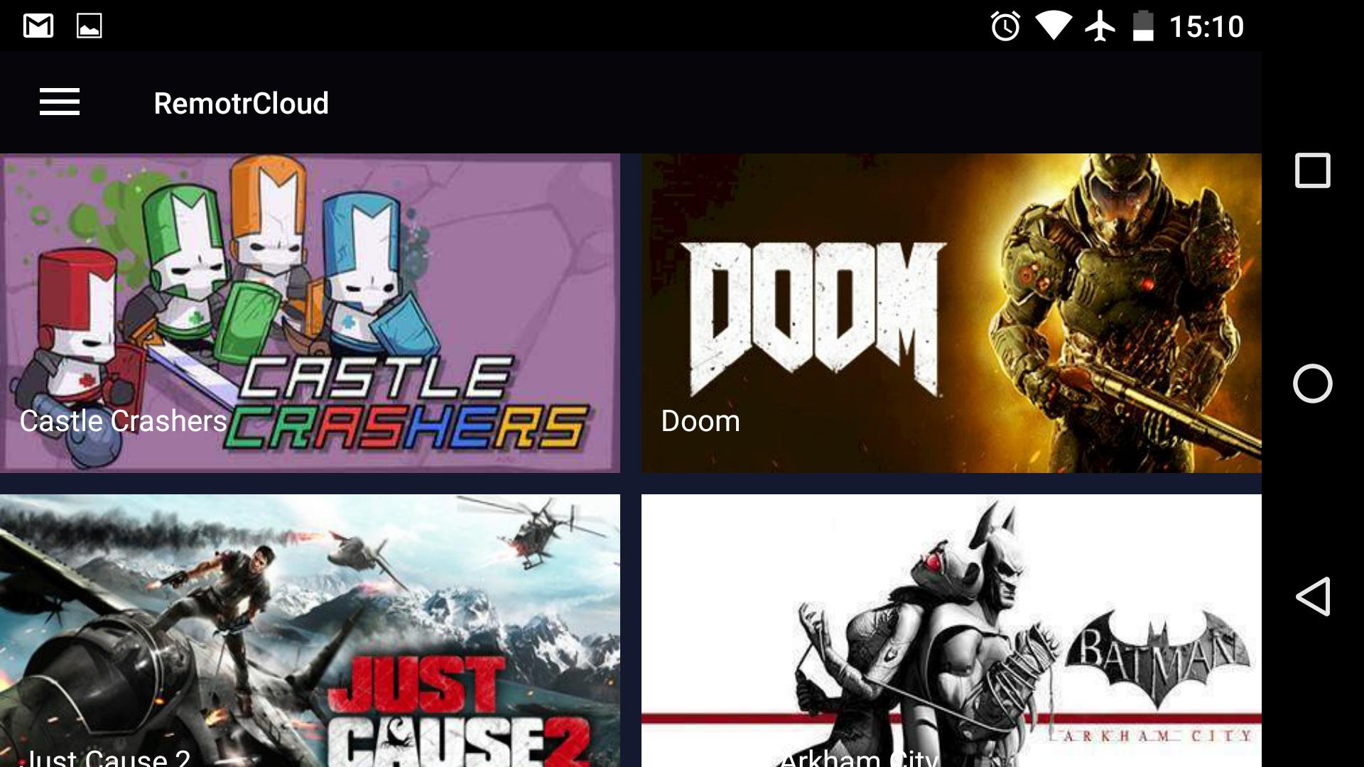 Remotr Cloud Gaming (Unreleased) for Android - APK Download
