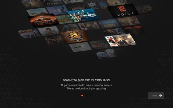 Vortex Cloud Gaming apk スクリーンショット